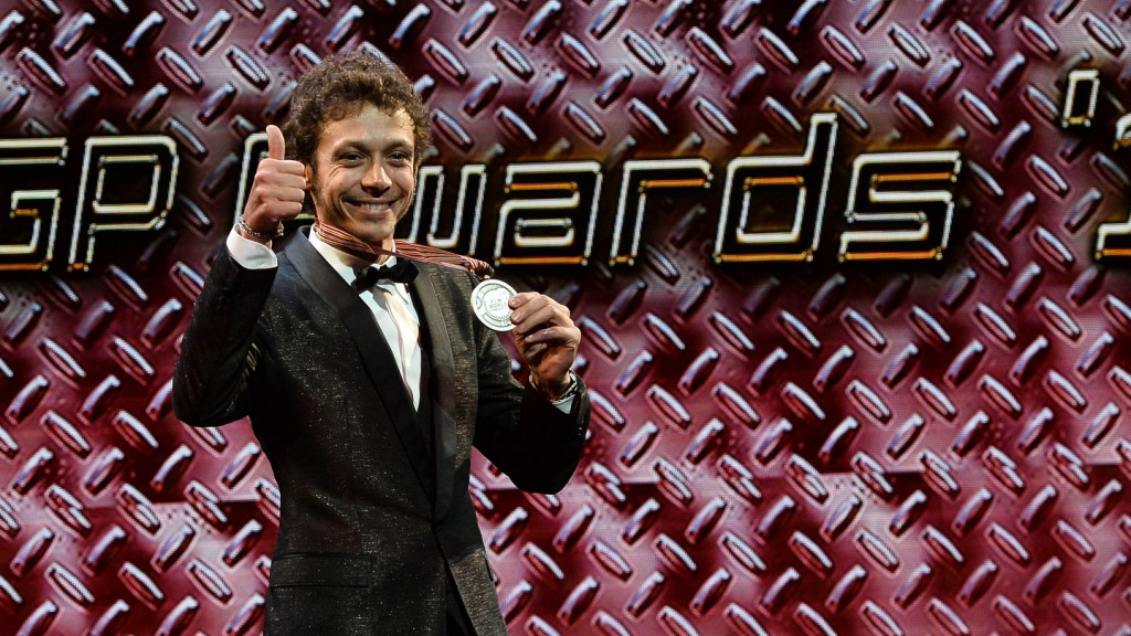 Valentino Rossi at 2014 MotoGP FIM Awards Ceremony