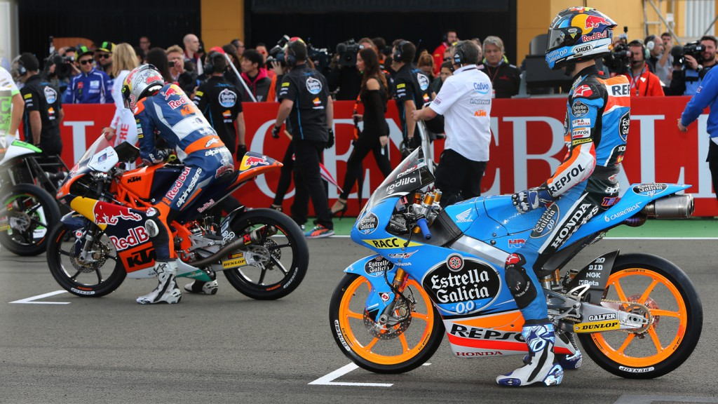 Moto3 Race start, VAL RACE