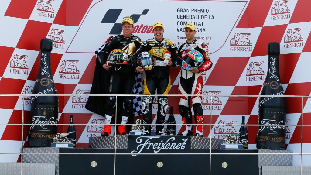 Podium Moto2, VAL RACE