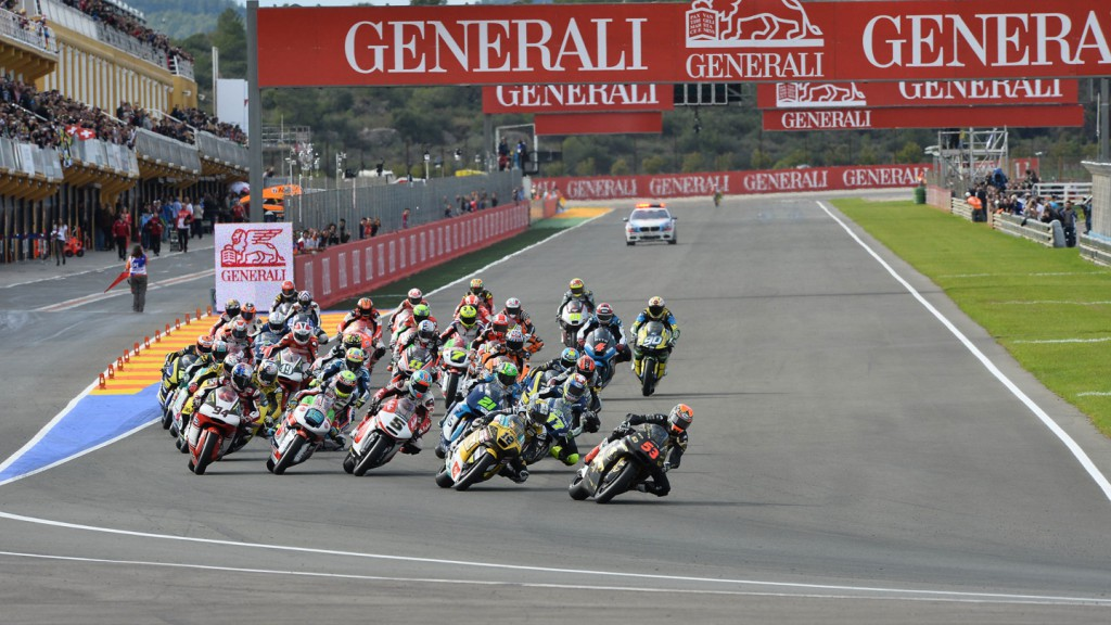 Moto2 Race Start, VAL RACE