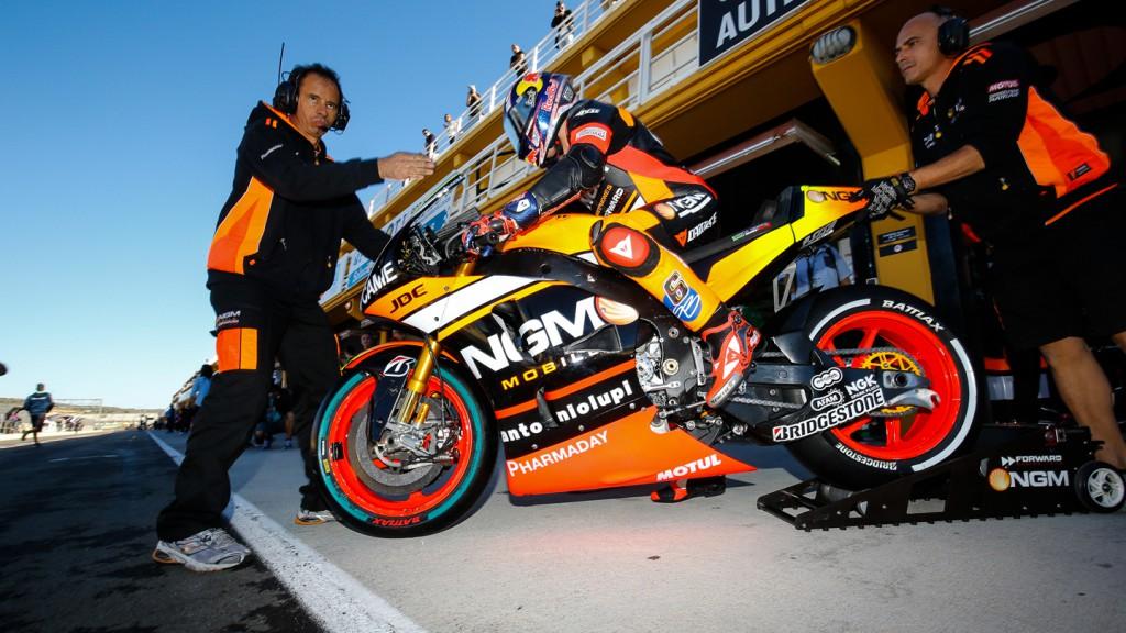 Stefan Bradl, NGM Forward Racing, MotoGP Valencia Test