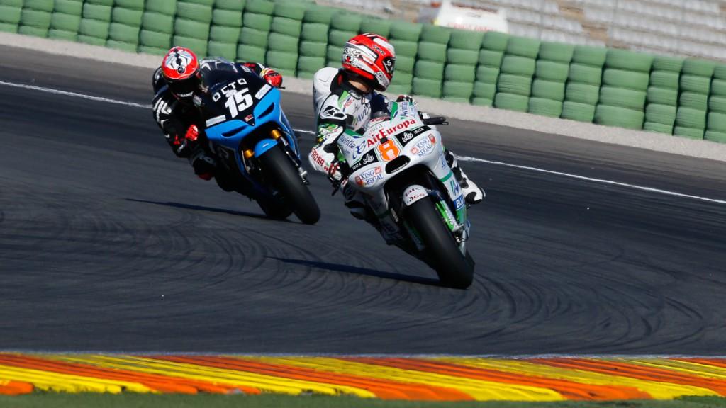 Hector Barbera, Avintia Racing, MotoGP Valencia Test