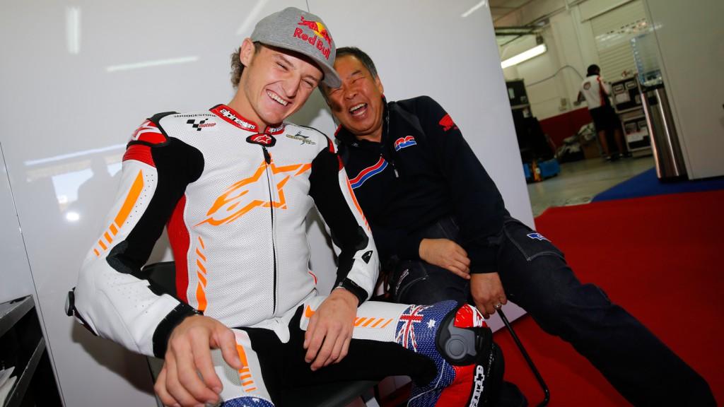 Jack Miller & Shuei Nakamoto, MotoGP Valencia Test