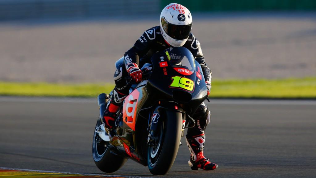 Alvaro Bautista, Factory Aprillia Gresini, MotoGP Valencia Test