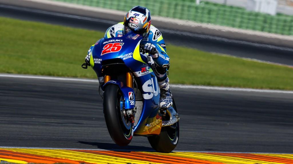 Maverick Viñales, Team Suzuki MotoGP, MotoGP Valencia Test