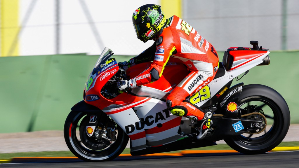 Andrea Iannone, Ducati Team, MotoGP Valencia Test