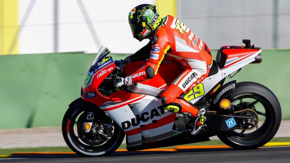 motogp.com · Andrea Iannone, Ducati Team, MotoGP Valencia Test