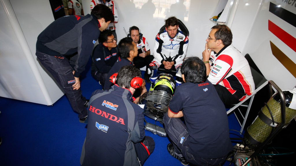 Cal Crutchlow, CWM LCR Honda, MotoGP Valencia Test