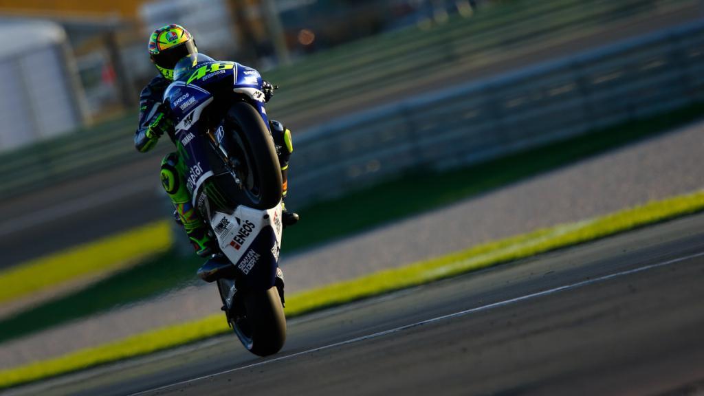 Valentino Rossi, Movistar Yamaha MotoGP, MotoGP Valencia Test