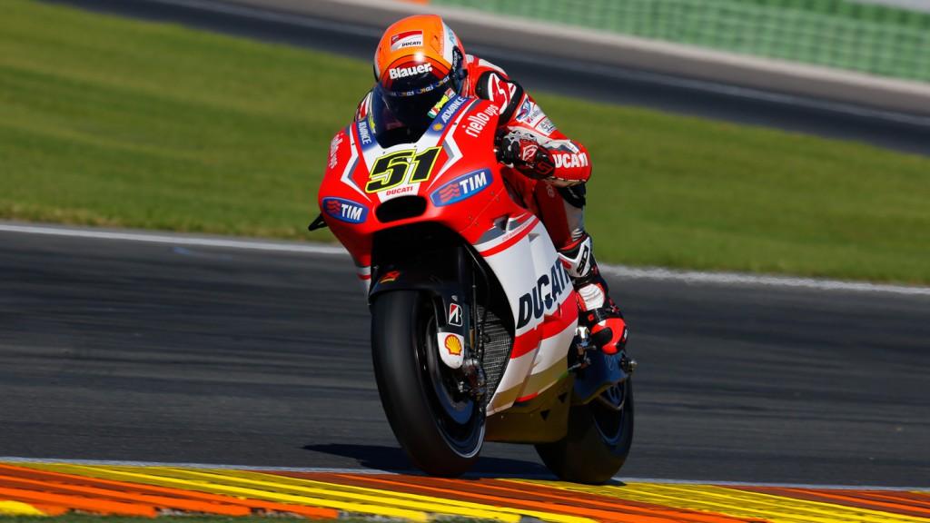 Michele Pirro, Ducati Team, MotoGP Valencia Test