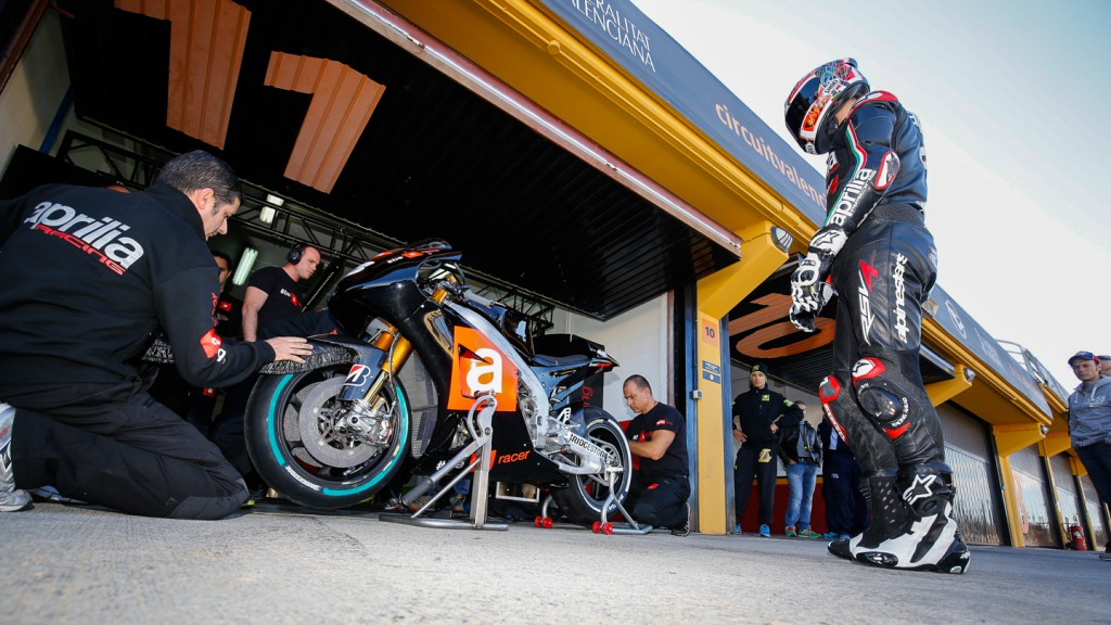 Alex Hoffmann, Aprillia Test Team, MotoGP Valencia Test