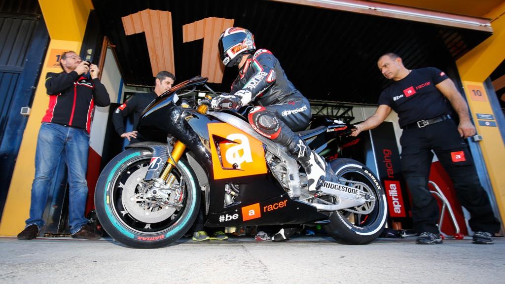 Alex Hoffmann, Aprillia Test Team, MotoGP Valencia Test