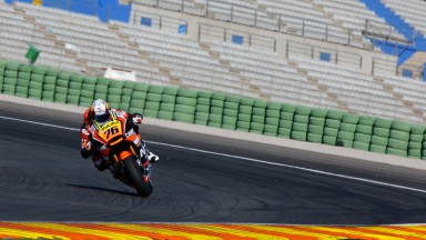 Loris Baz, NGM Forward Racing, MotoGP Valencia Test