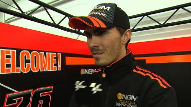 Baz pleased with wet progress despite two crashes