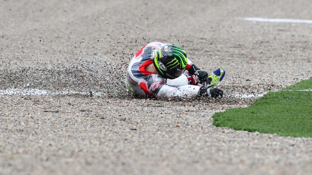 Cal Crutchlow, CWM LCR Honda, MotoGP Valencia Test © Copyright Peter Callister