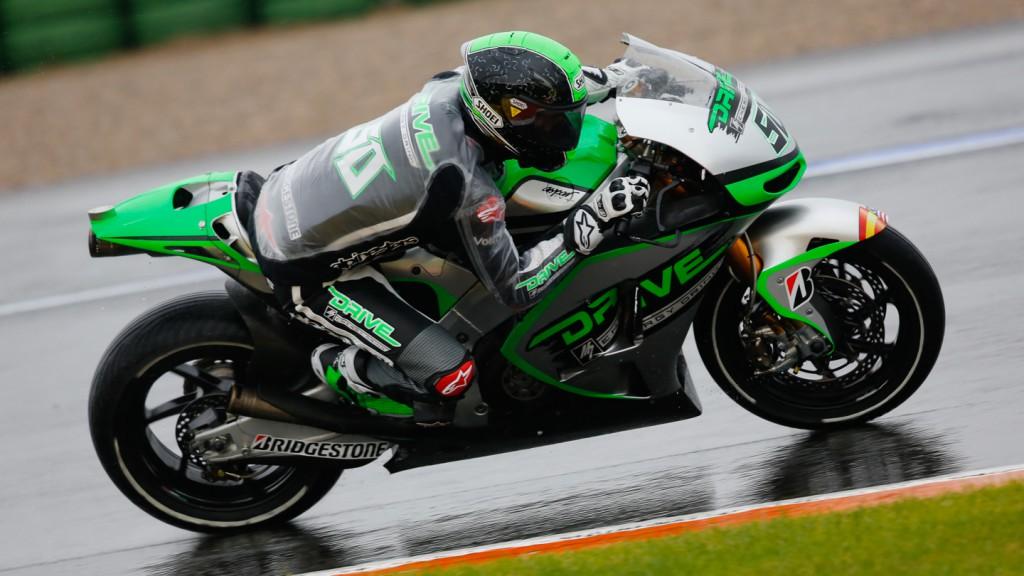 Eugene Laverty, Drive M7 Aspar, MotoGP Valencia Test