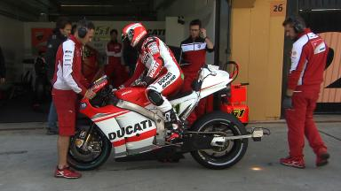 2014 Valencia Test Day 3