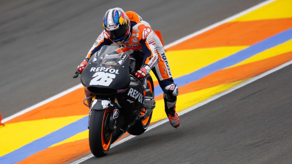 Dani Pedrosa, Repsol Honda Team, MotoGP Valencia Test