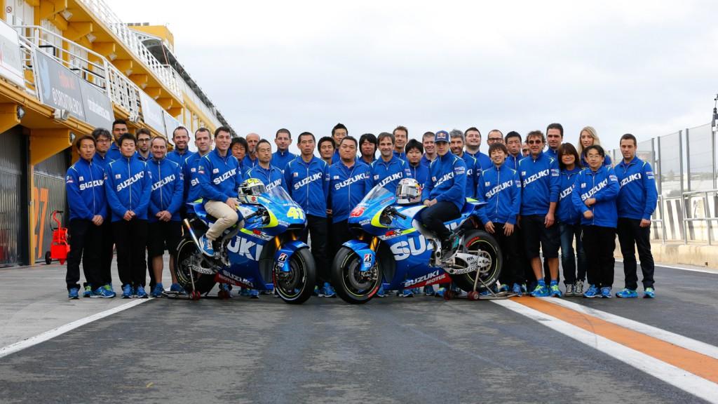 Team Suzuki MotoGP, MotoGP Valencia Test