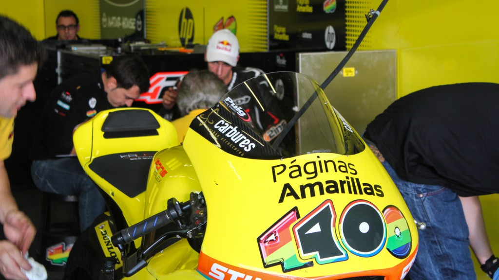 Alex Rins, Paginas Amarillas HP40, Jerez Test