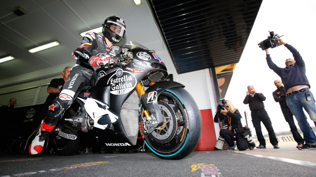 Scott Redding, Marc VDS Racing Team, MotoGP Valencia Test