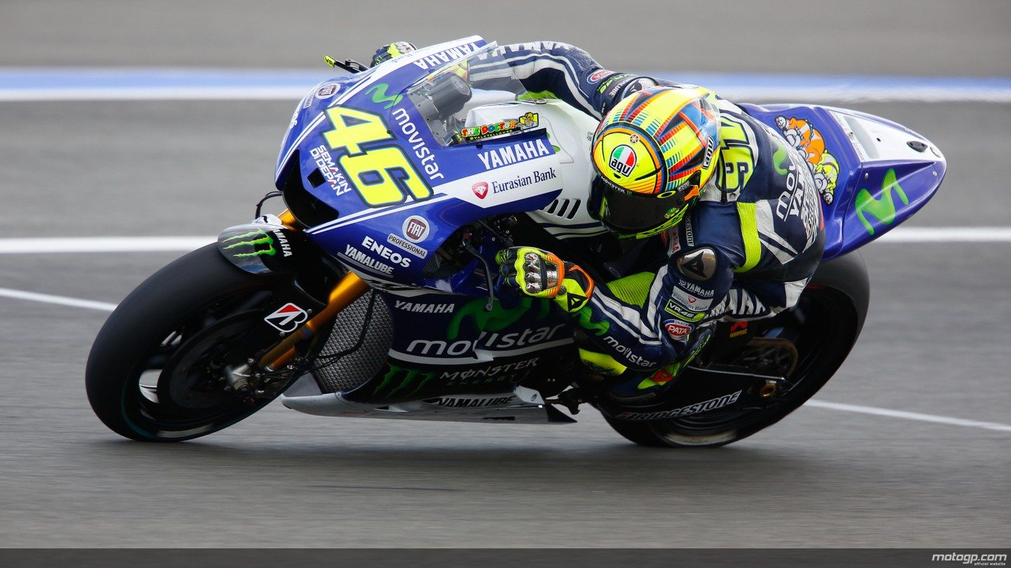 valentino rossi movistar yamaha motogp motogp valencia test. Black Bedroom Furniture Sets. Home Design Ideas