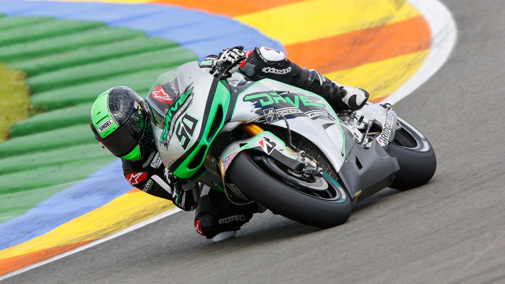 Eugene Laverty, Drive Aspar M7, MotoGP Valencia Test