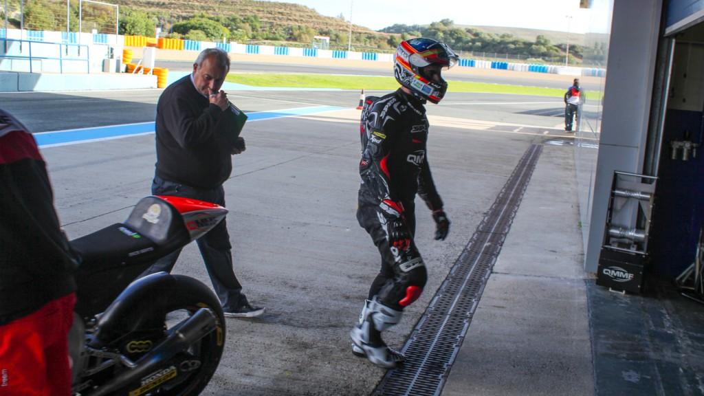 Julian Simon, QMMF Racing, Jerez Test