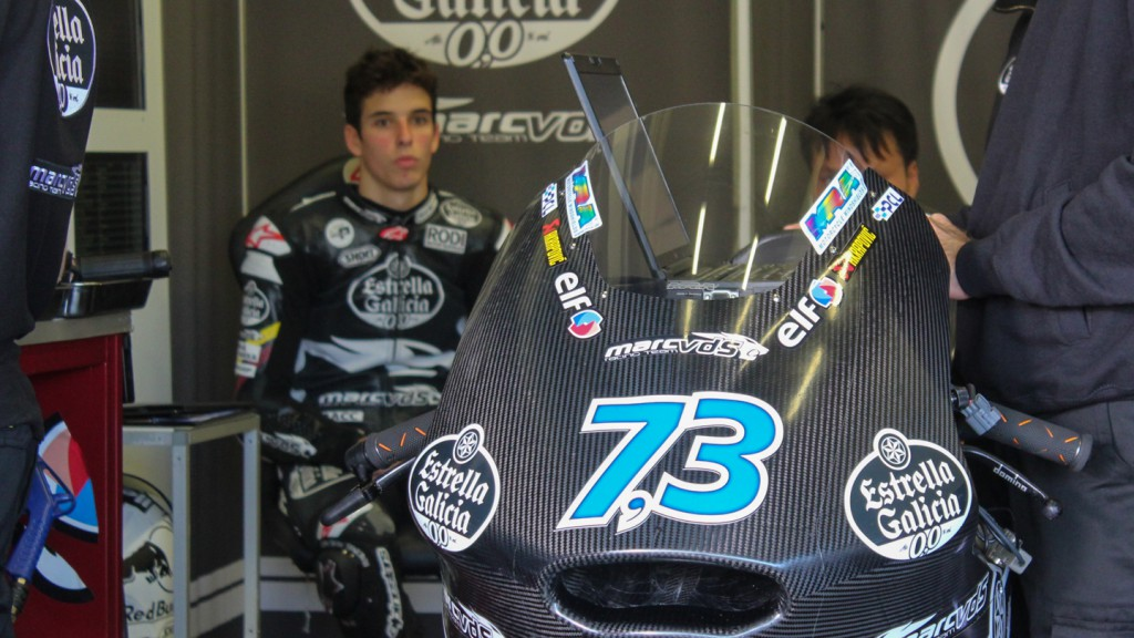 Alex Marquez, Marc VDS Racing Team, Jerez Test