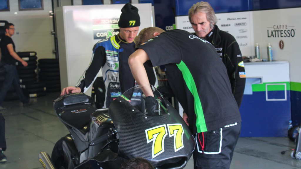 Dominique Aegerter, Technomag carXpert, Jerez Test
