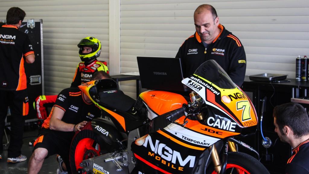 Lorenzo Baldassarri, Moto2 Test rider, Jerez Test