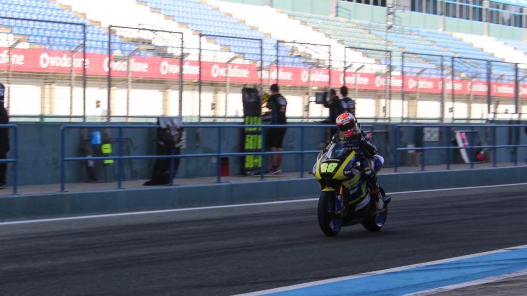Ricard Cardus, Tech 3, Jerez Test