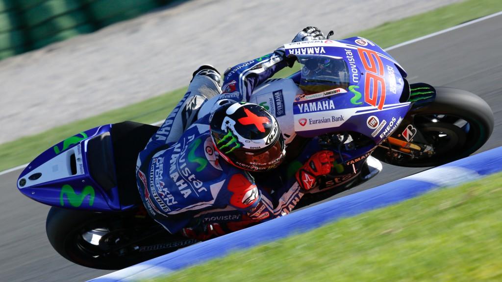 Jorge Lorenzo, Movistar Yamaha MotoGP, MotoGP Valencia Test