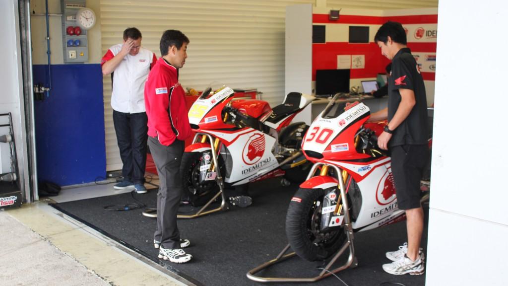 Idemitsu Honda Team Asia, Jerez Test