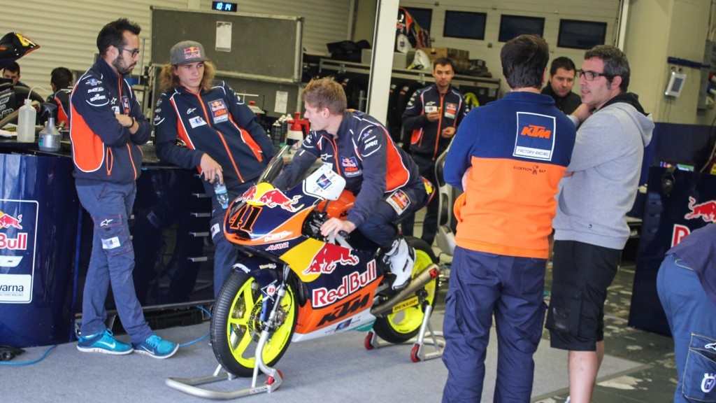Red Bull KTM AJo, Jerez Test