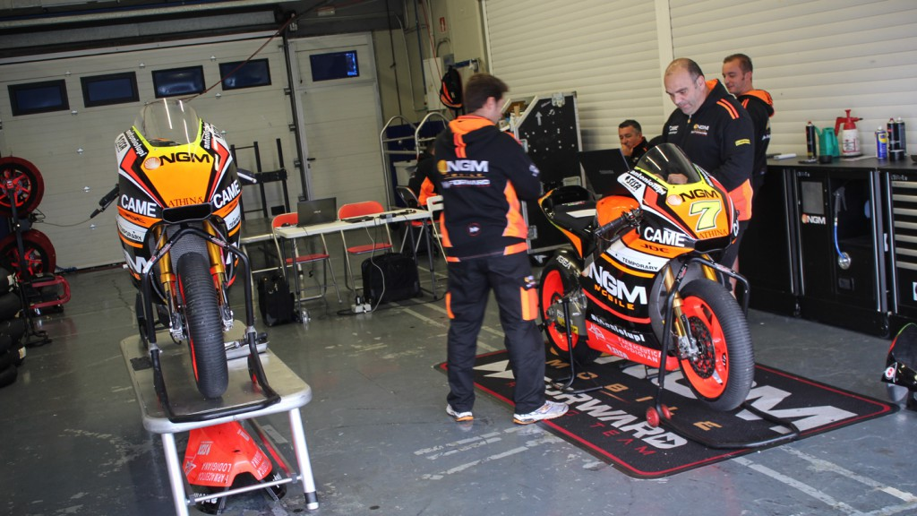 NGM Forward Racing, Jerez Test