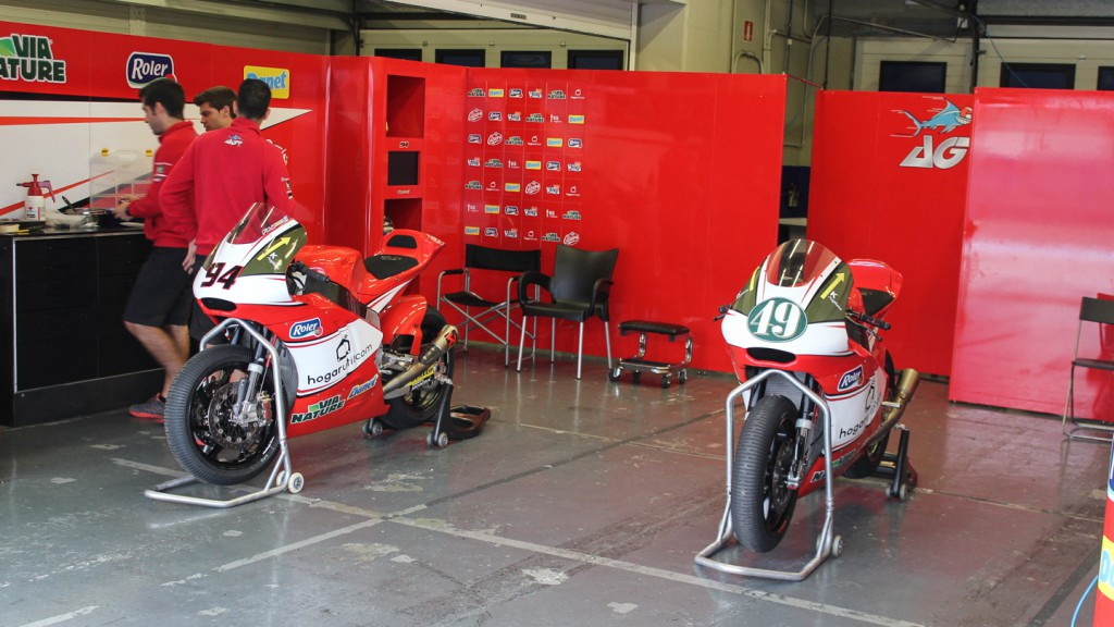 AGR Team, Jerez Test