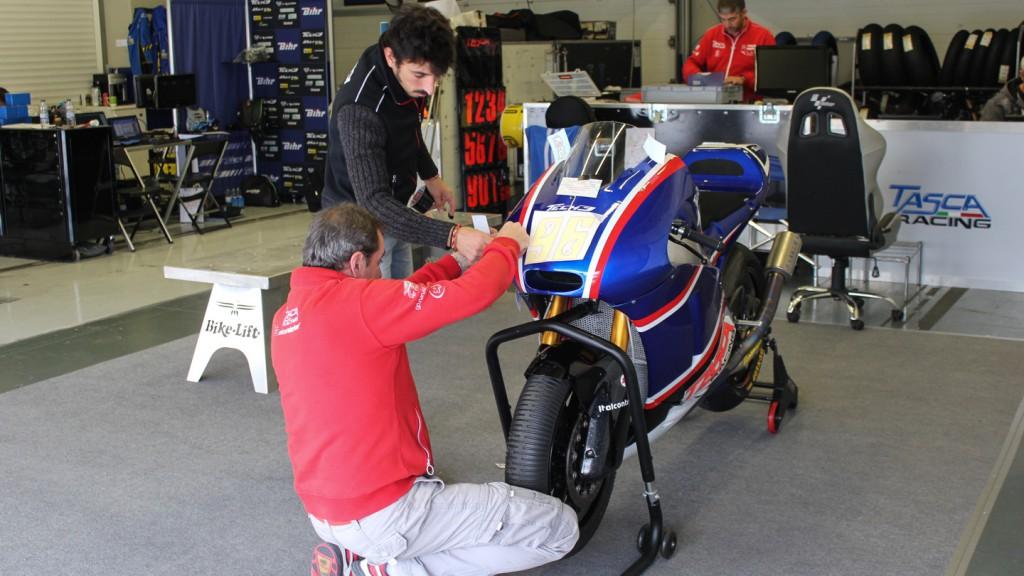 Louis Rossi, Tasca Racin Scuderia, Jerez Test