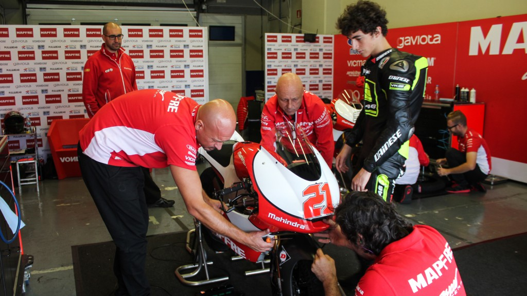 Francesco Bagnaia, Mapfre Aspar Team, Jerez Test