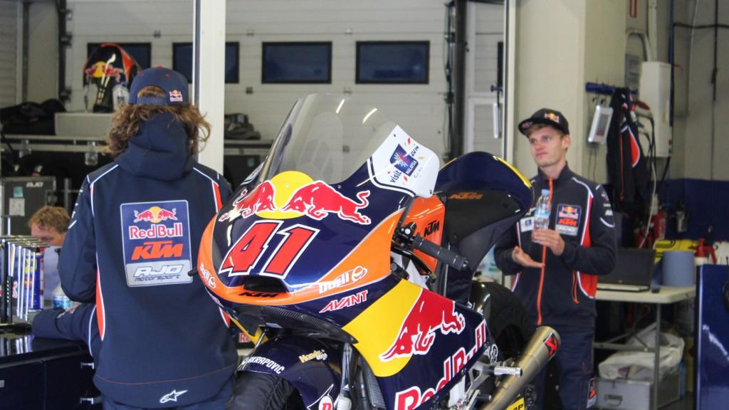 Brad Binder, Red Bull KTM Ajo, Jerez Test