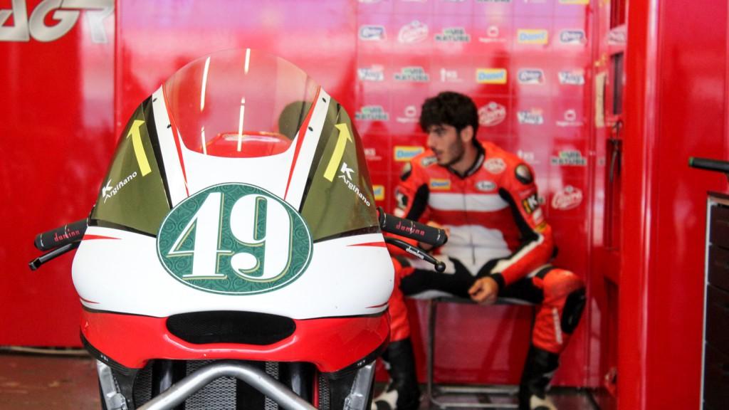 Axel Pons, AGR Team, Jerez Test