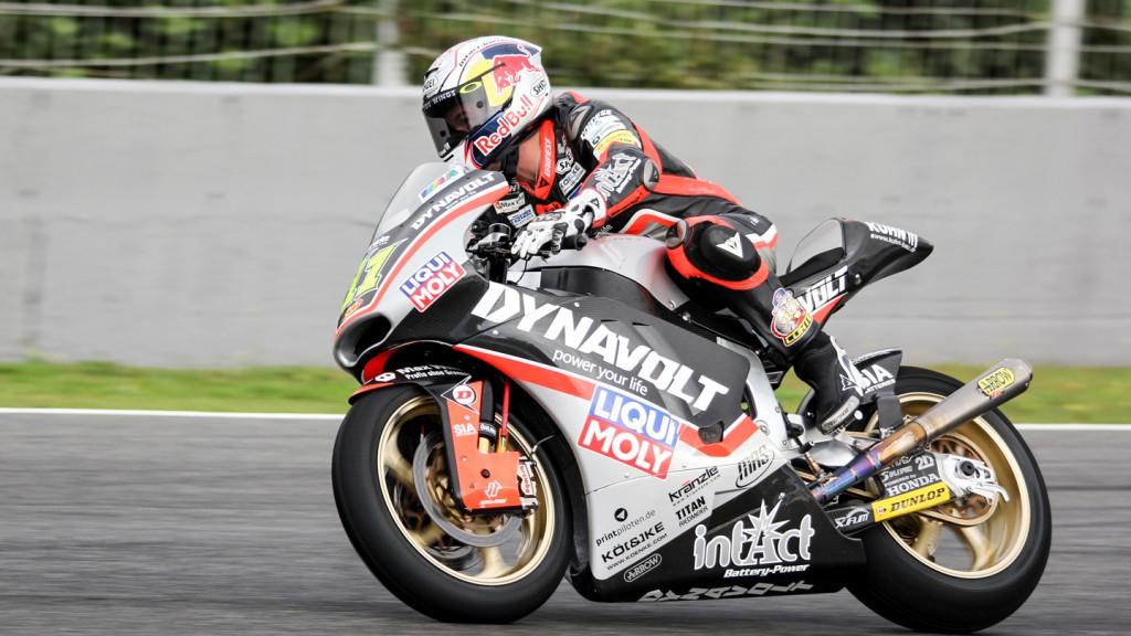 Sandro Cortese, Dynavolt Intact GP, Jerez Test