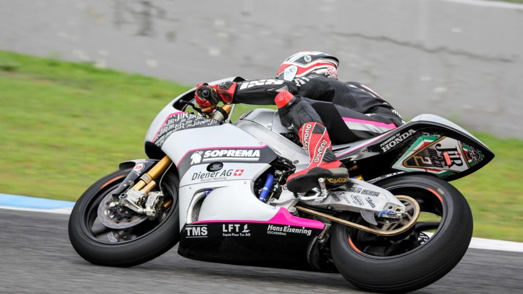 Randy Krummenacher, JIR Moto2, Jerez Test
