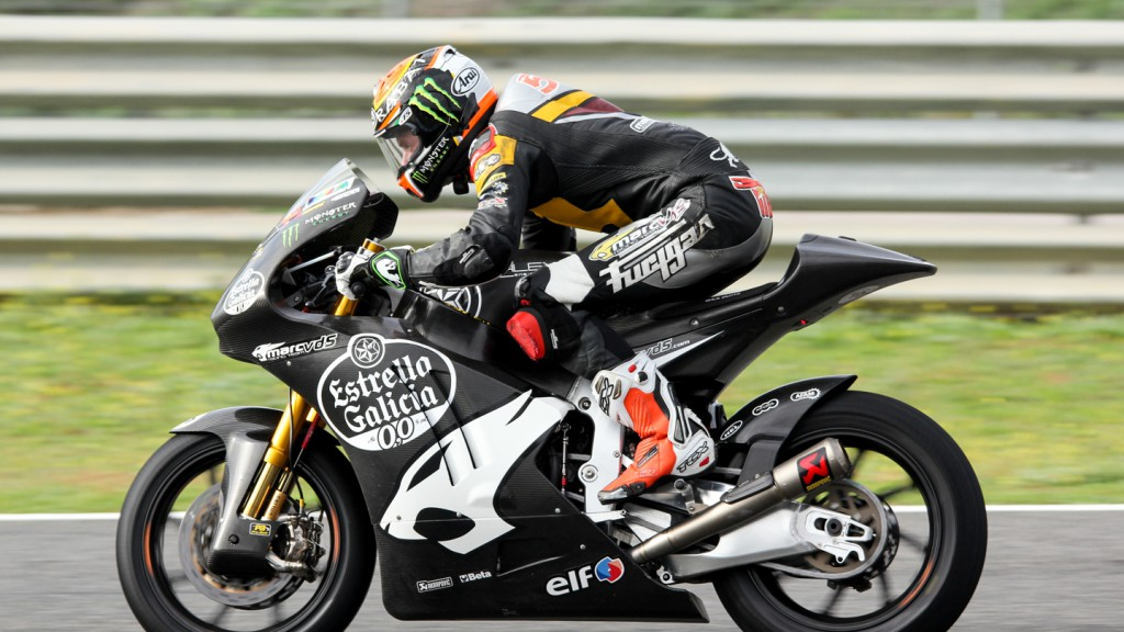 Esteve Rabat, Marc VDS Racing Team, Jerez Test
