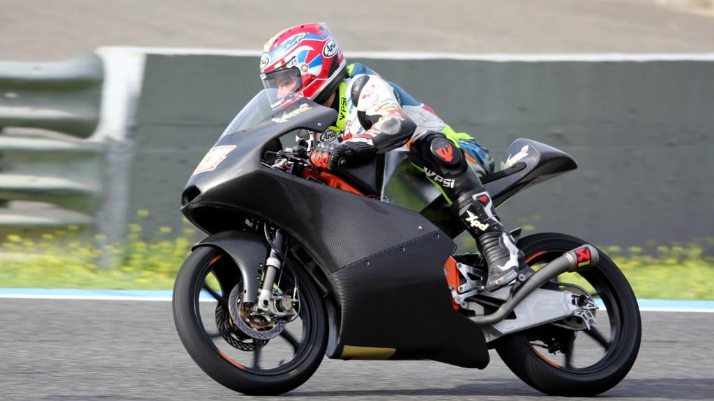 Jakub Kornfeil, CIP, Jerez Test