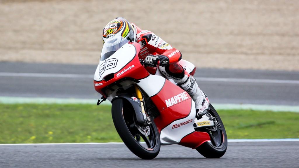 Juanfran Guevara, Mapfre Aspar Team Moto3. Jerez Test