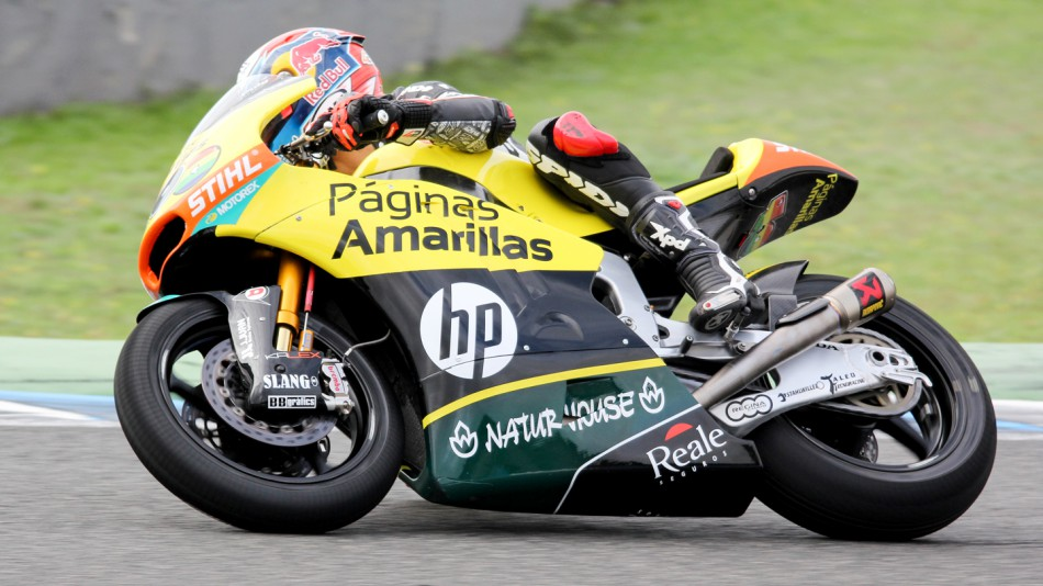 motogp.com · Alex Rins, Paginas Amarillas HP 40, Jerez Test