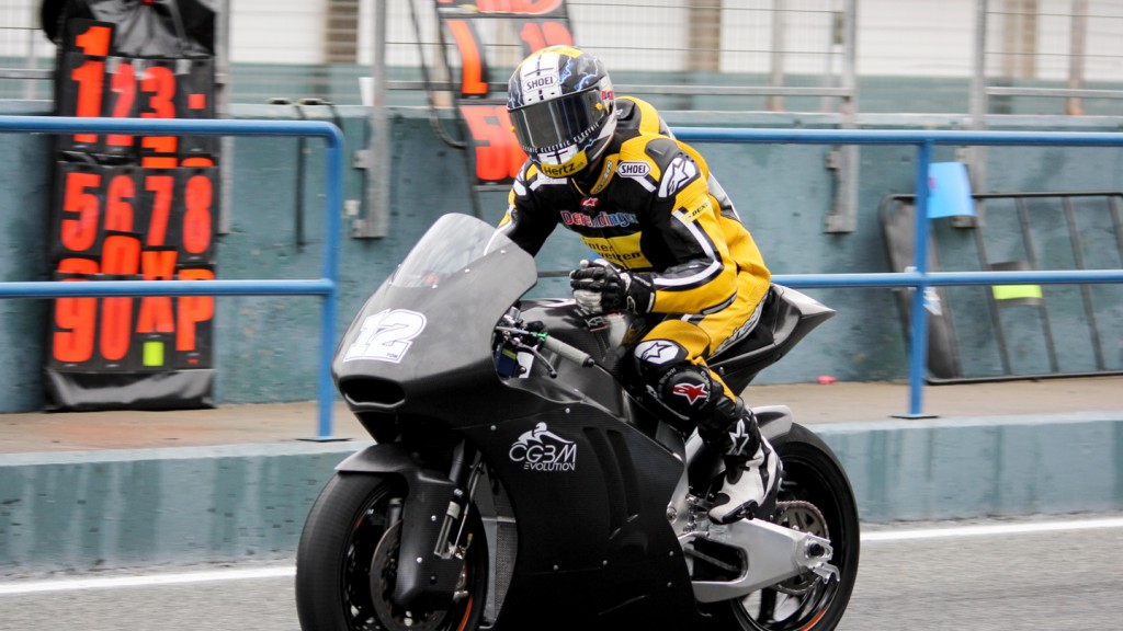 Thomas Luthi, Derendinger Racing Interwetten, Jerez Test
