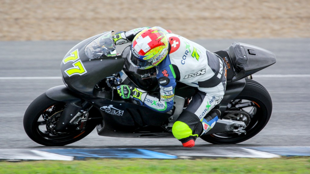 Dominique Aegerter, Technomag Racing Interwetten, Jerez Test