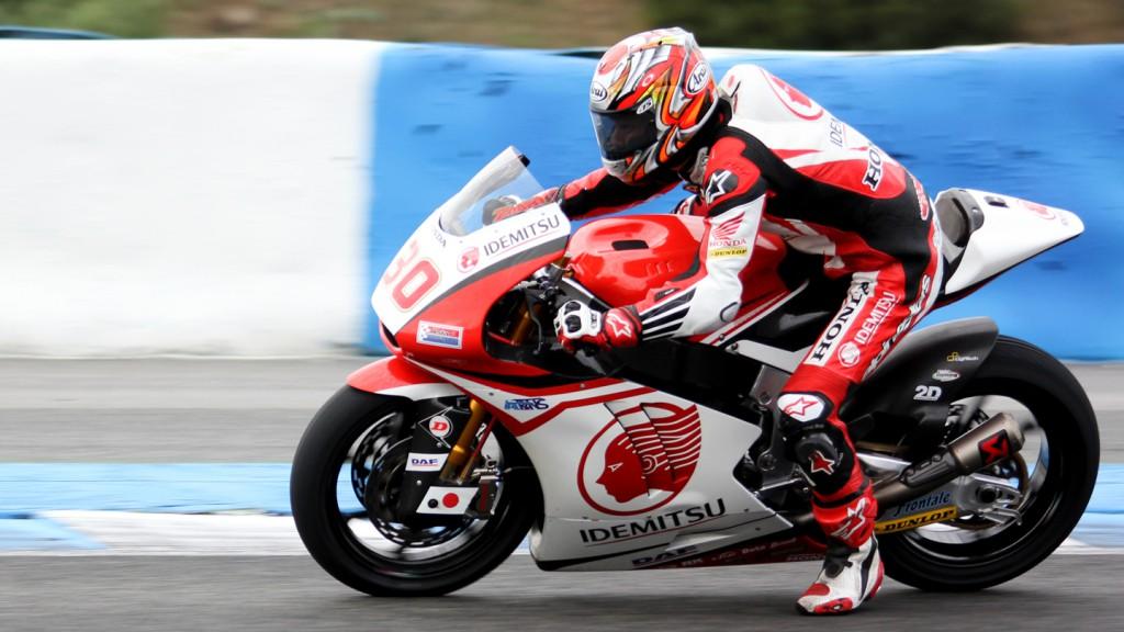 Takaaki Nakagami, Idemitsu Honda Team Asia, Jerez Test